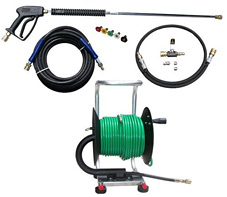 Drain Sewer Jetter Pressure Washer Hand Reel